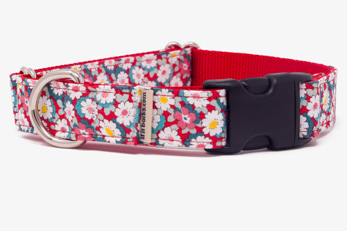 Retro Floral Fabric Martingale