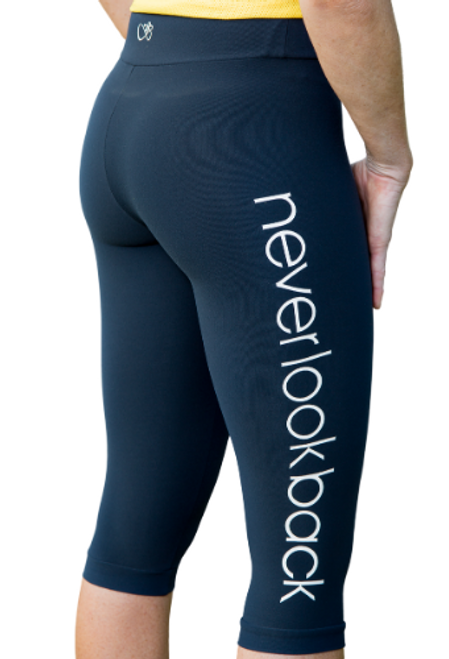 Maddy 3/4 Tights - Blue