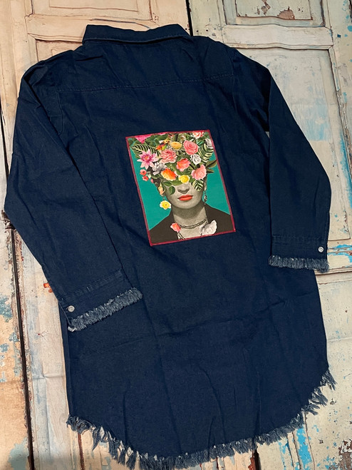 Frida Shirt Medium Denim