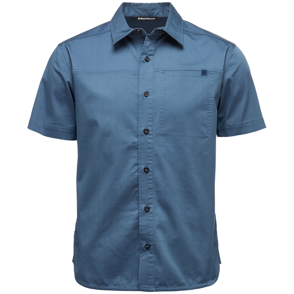 Short Sleeve Stretch Operator Shirt - Men's