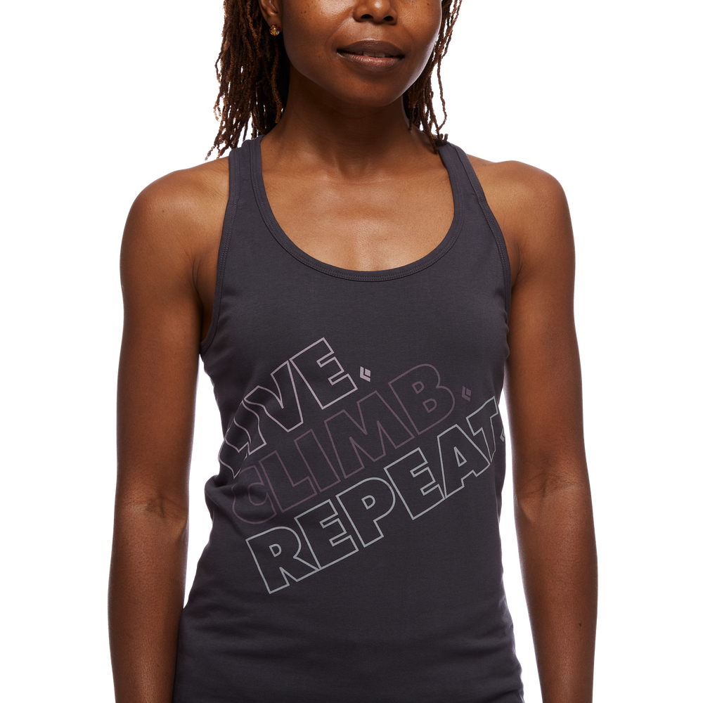 Live.Climb.Repeat. Tank - Women's