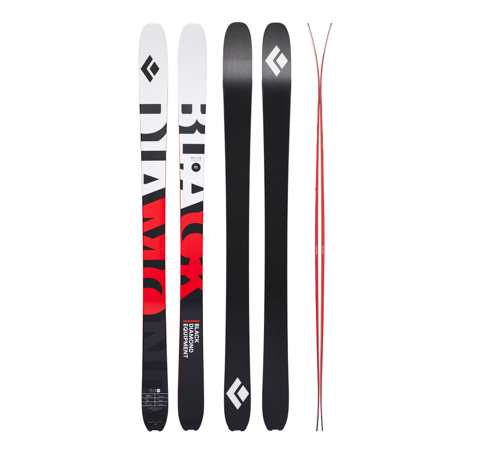 Helio Carbon 95 Skis 2nd