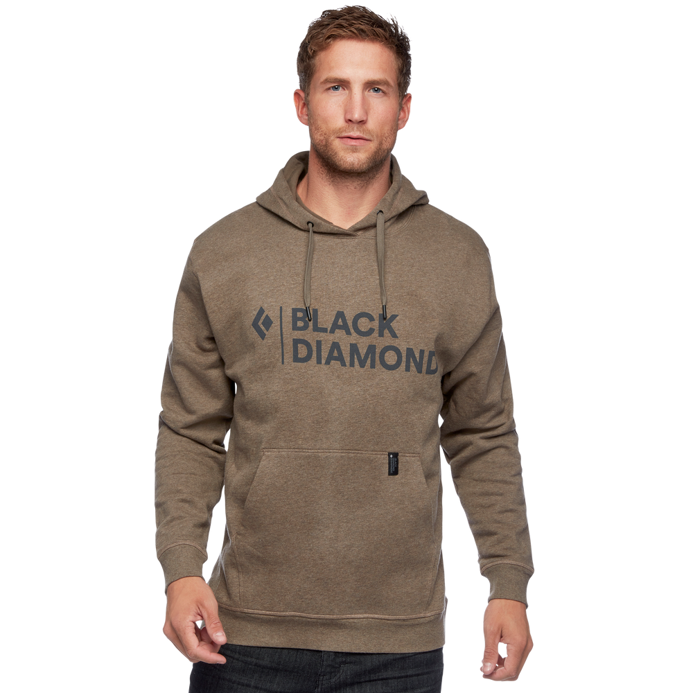 Stacked Logo Hoody - Men's
