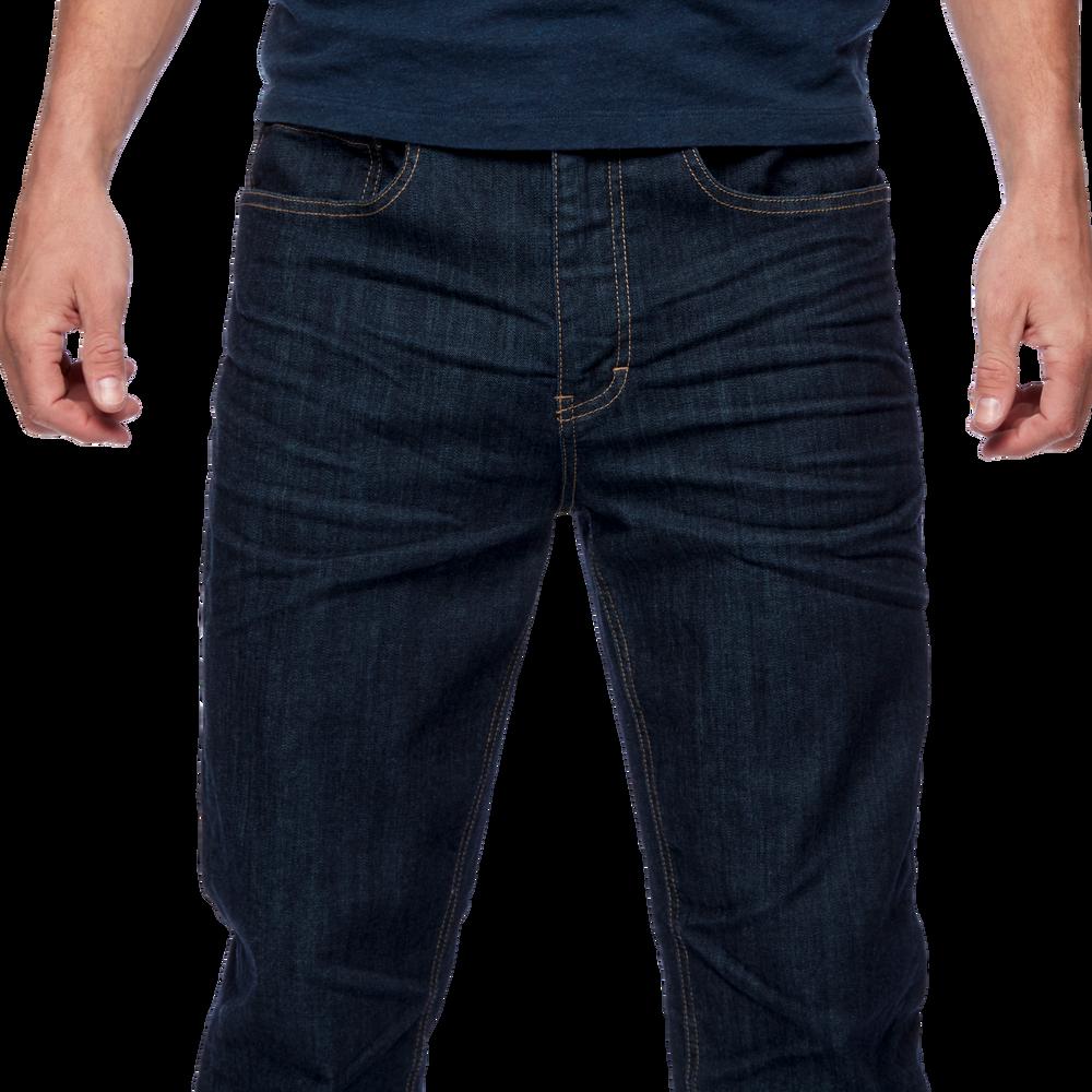 Forged Denim Pants - Men's