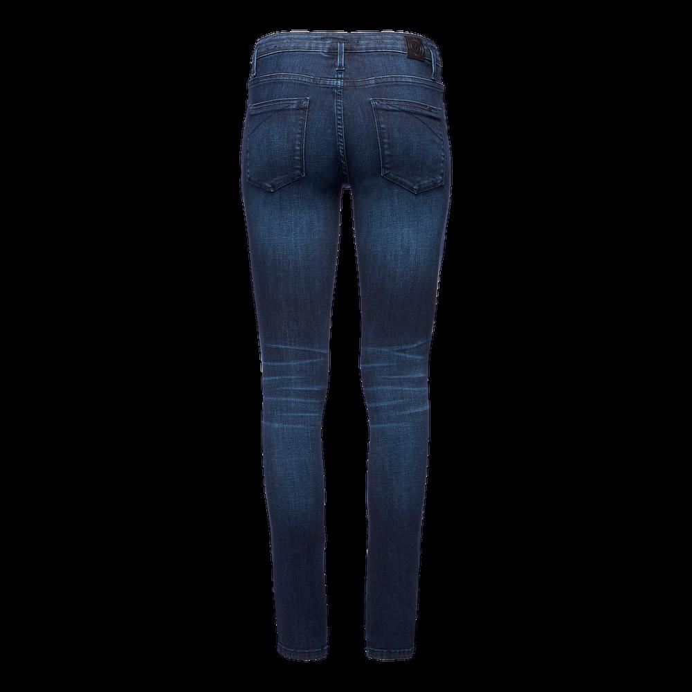 Forged Denim Pants - Women's