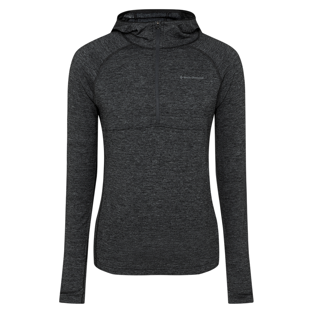 Solution 150 Merino Baselayer Crew Half Zip Hoody - Men's