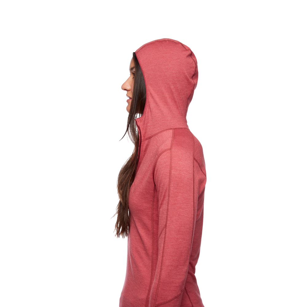 Solution 150 Merino Quarter  Zip Hoody - Women's