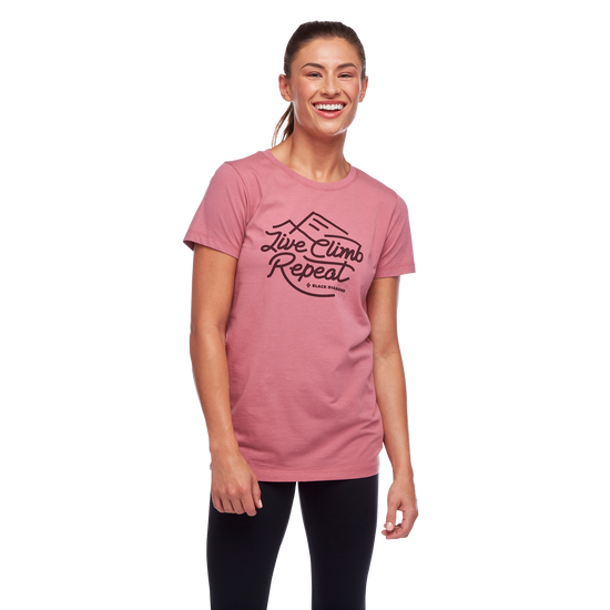 Live Climb Repeat Tee - Women's