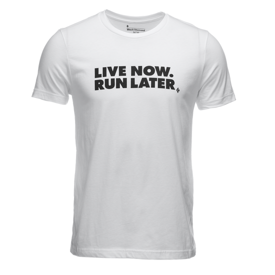 Live Now, Run Later Tee