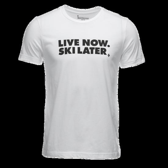 Live Now, Ski Later Tee