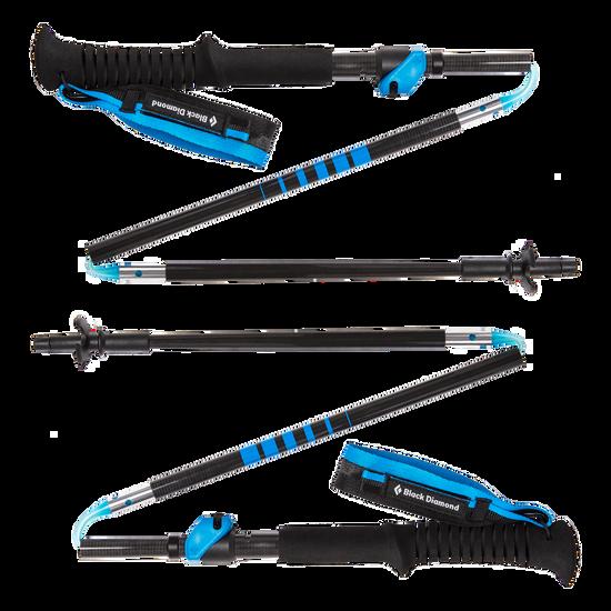 Distance Carbon FLZ Trekking/Running Poles