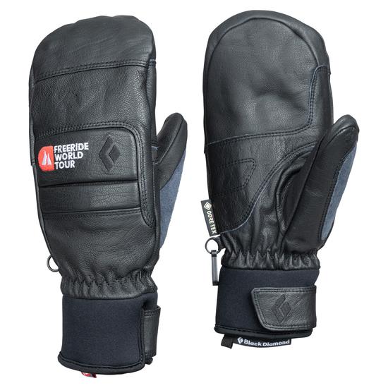 Black Diamond Spark Mitts freeride Series Mitts Cold Weather Gloves Black NWT
