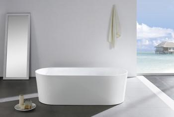 ALMA-ODIN 63″ FREE STANDING BATHTUB