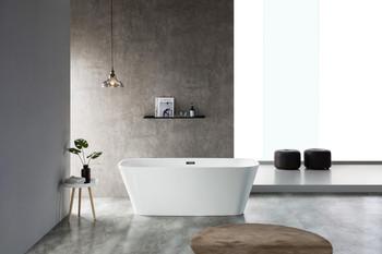 ALMA-VETTIS 58″ FREE STANDING BATHTUB