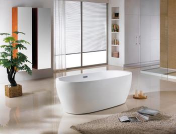 ALMA-TRESA 66″ FREE STANDING BATHTUB