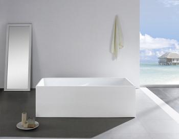 "ALMA-LEVOIR 63"" FREE STANDING BATHTUB"