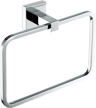 ALMA EMPOLO  TOWEL RING – CHROME