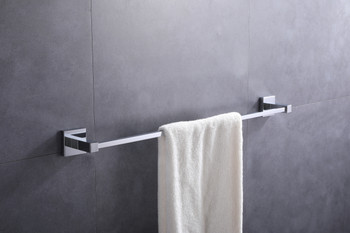 ALMA EMPOLO TOWEL BAR – CHROME