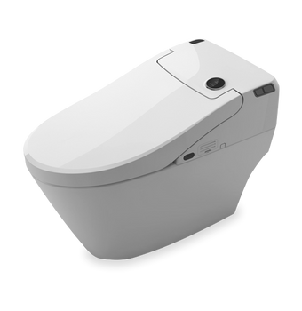 Alma Intelligent Series One-Piece, Dual Flush Toilet