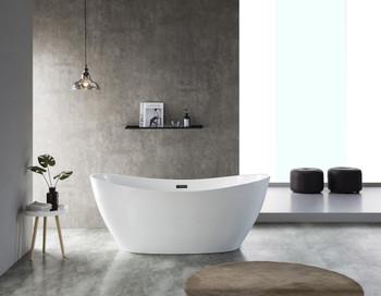 ALMA-MOON 67″ FREE STANDING BATHTUB