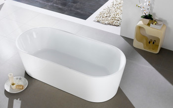 ALMA-ODIN 60″ FREE STANDING BATHTUB
