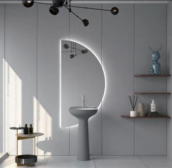 "Doric  Polymarble 16"" Pedestal Bathroom Sink"