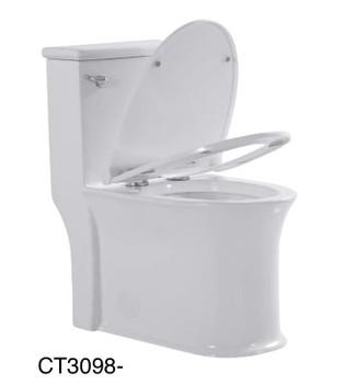 Alma SFC One-Piece, Single Flush Toilet