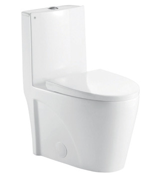 Alma Hemlock  One-Piece, Dual Flush, Elongated Toilet