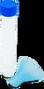 Saliva, collection, kit, funnel, tube