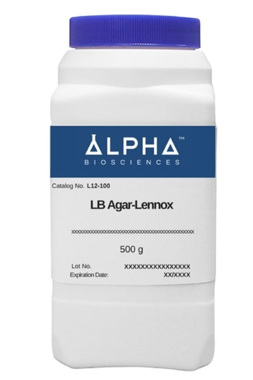 LB Agar - Lennox LB Agar (L12-100)
