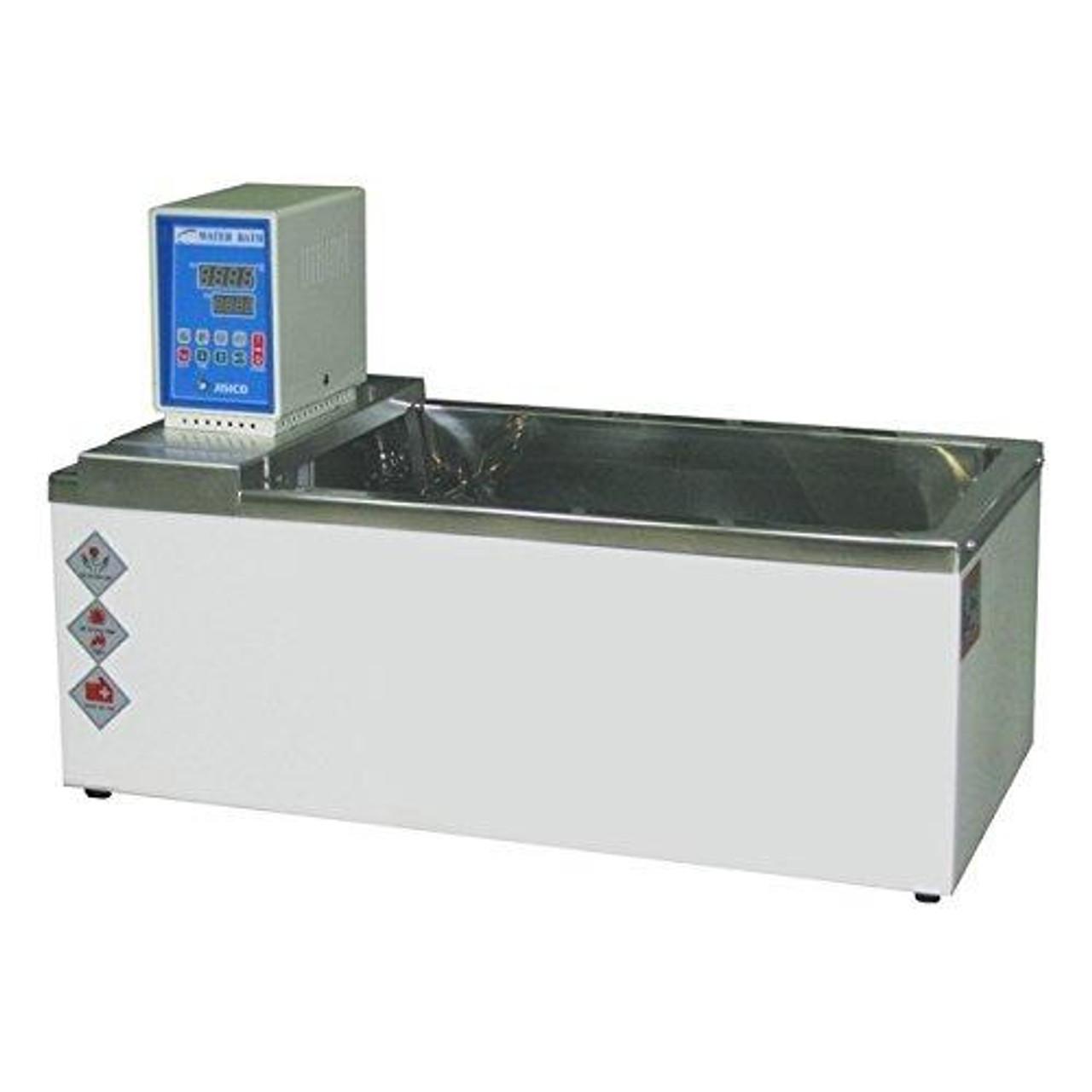 JISICO Immersion Circulating Water Bath. Capacity 15 lts temp range Ambient+5℃ ~ 90℃(Max.) Volt 110 / 60 Hz
