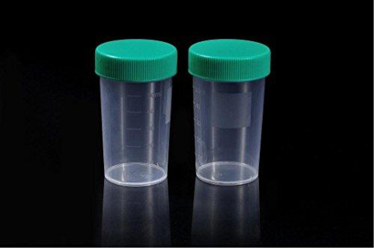 SPL Sterile Specimen Bottle,Screw Cap, Polypropilene, 50 ml - 1.7 oz , 100/case