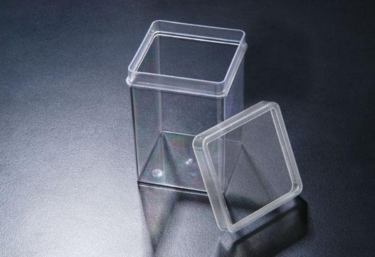 SPL Incu Tissue (square vessel for plant culture), PC,  72x72x100mm,Autoclavable, transparent With Lid