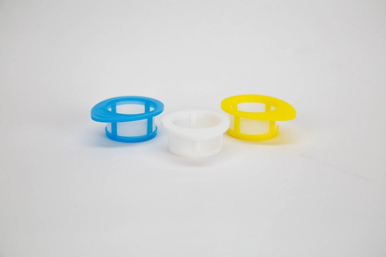 EZFlow® Cell Strainer, 70 um, Sterile, White, 50 per Box