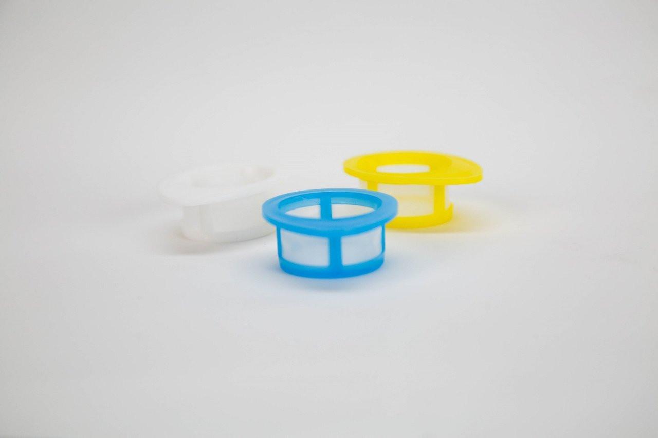 EZFlow® Cell Strainer, 40 um, Sterile, Blue, 50 per Box