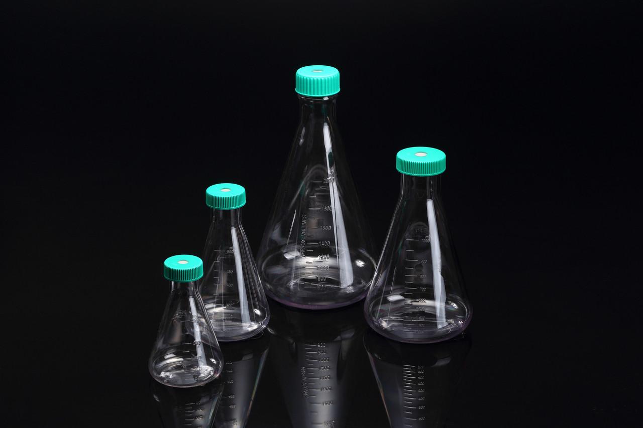 SPL Erlenmeyer Flask, PC, 500ml, Case of 8 (Sterile)