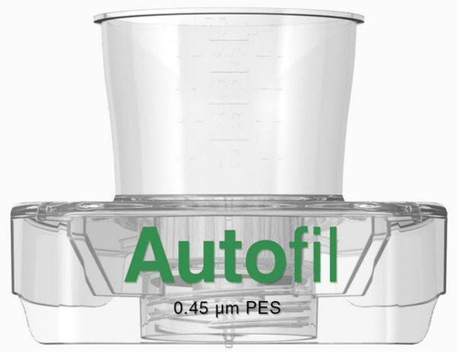15ml Autofil® Sterile .45 μm High Flow PES Vacuum Filter FUNNEL ONLY, 48/case
