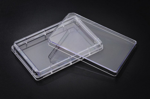 SPL Tray Plate Single well Plate,PS,TC Treated, Sterile to SAL 10-6, Case of 50