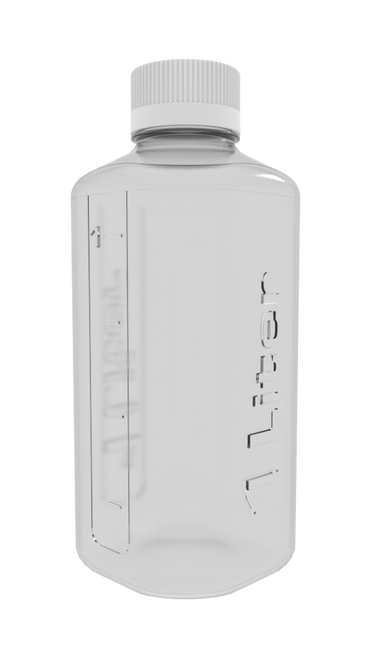1L PETG Boston Square Bottle