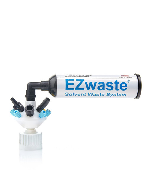 """EZWaste® UN/DOT Filter Kit, VersaCap® 38-430, 3 Ports for Either 1/8"""" or 1/16"""" OD Tubing"""
