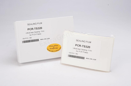 Real, Time, qPCR, Sealing, Film, Adhesive,  clear, transparent, pcr, plate