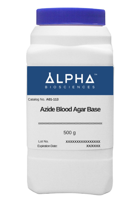Azide Blood Agar Base (A01-113)