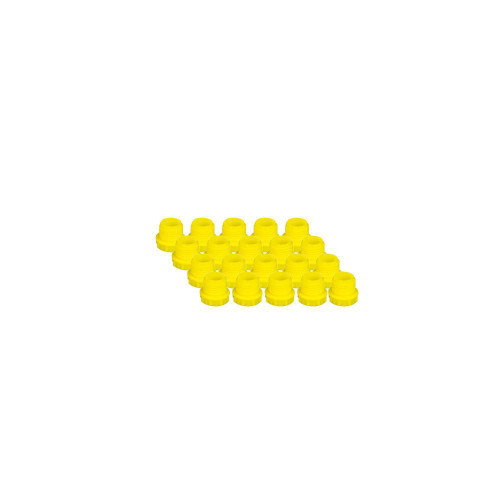 EZwaste® Replacement Fitting 1/2-20 Plugs, 20/pack