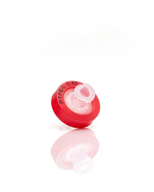 EZFlow 13 mm Syringe Filter, .45 um Hydrophobic PTFE, 100/pack