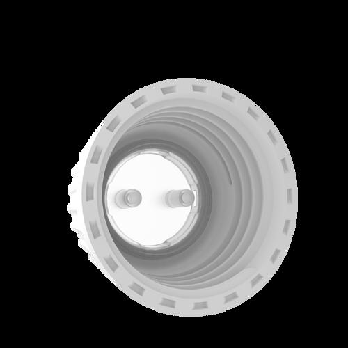 "Open Top VersaCap® 38-430mm with 2x Molded 1/8"" HB Adapter, 4/case"