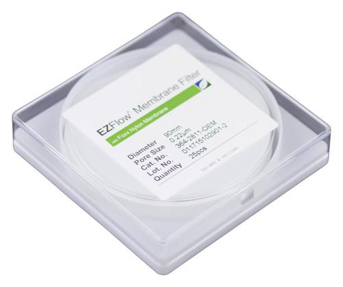25 pack EZFlow® 90mm 0.2µm Nylon Membrane Disc Filter