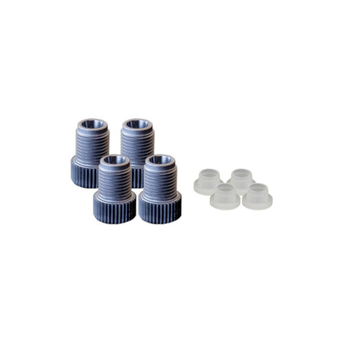 EZwaste® Replacement Tube Fittings, 1/4'' OD Fitting Pack, 4/pack