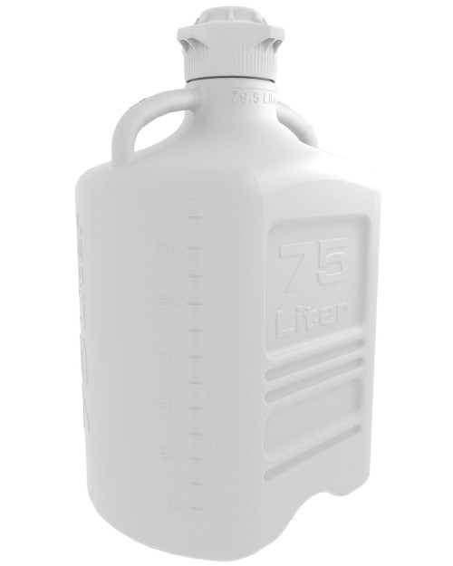 75L (20 Gal) HDPE Carboy with 120mm Cap