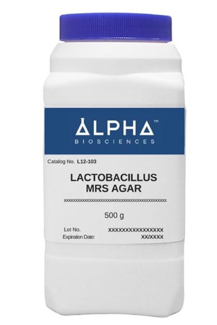 Lactobacilli Mrs Agar [Lmrs Agar] (L12-103)
