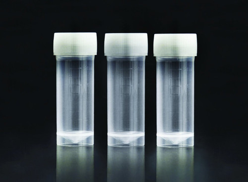 SPL 20 ml Sample Tube, PP/HDPE, 20ml, 25 x 73mm, Sterile to SAL 10-6, 25 Pack (50221)